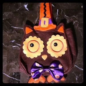Owl Halloween Treat Bag